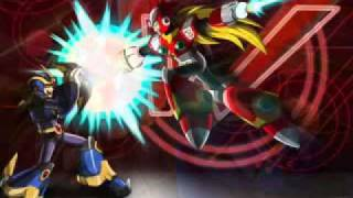 Megaman X5 X vs Zero remix theme