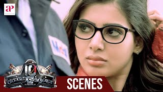 10 Endrathukulla Movie | Fight Scene | Vikram saves Samantha | Abhimanyu Singh tensed about Samantha