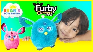 Furby Connect Amazon Exclusive Launch NEW 2016 toy for Kids Unboxing Playtime Ryan ToysReview