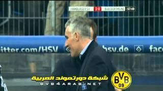 اهداف هامبورغ و دورتموند - الدوري الالماني - الجولة 22