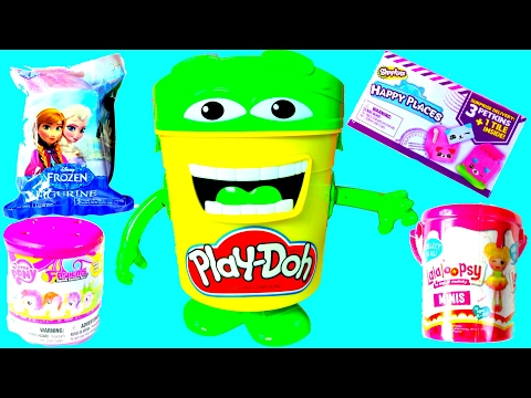 Cubeta de Play Doh Con Juguetes Sorpresa|Play Doh Bucket Surprise|MDJ