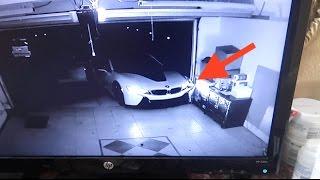 CRASHED MY BMW i8 (Caught on camera)
