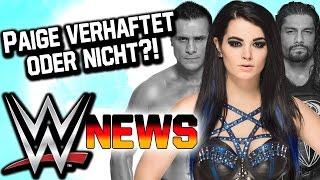 Paige verhaftet oder nicht?!, Roman Reigns Suspendierung   WWE NEWS 51/2016