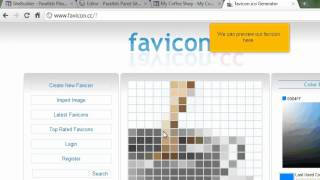 How to Upload a Favicon for Your Site