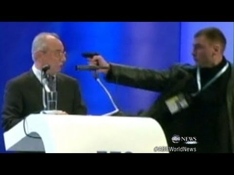 Brazen Assassination Attack on Politician Caught on Tape ABC World News Tonight ABC News