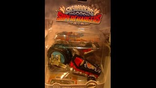 SKYLANDERS SUPERCHARGERS CRYPT CRUSHER UNBOXING