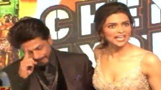 Shahrukh Khan Gets Angry at Chennai Express Music Launch