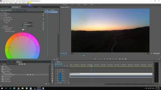 How to adjust Color Saturation in Premiere Pro CC 2015