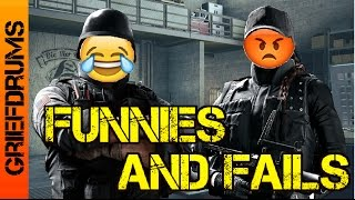 Funnies and Fails: Rainbow Six Siege Gameplay