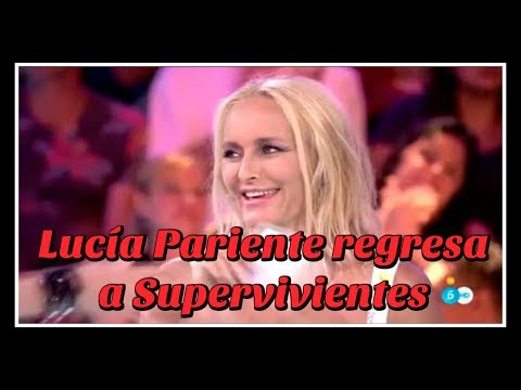 Xxx Mp4 Lucía Pariente Regresa A Supervivientes 3gp Sex