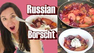 Russian Taste Test Cooking Borscht