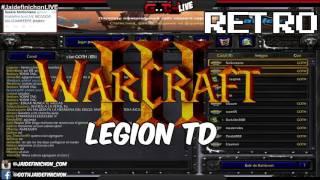 LEVEL 20 CTM! Legion TD! EN VIVO #JaidefinichonLIVE en Español - GOTH