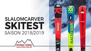 SKITEST: SlalomCarver 2018/19 | Völkl Racetiger SL - Rossignol Hero ST Ti - Atomic S9
