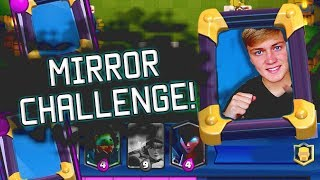 NIEUWE KAART ZIT IN MIRROR BATTLE!!! | CLASH ROYALE