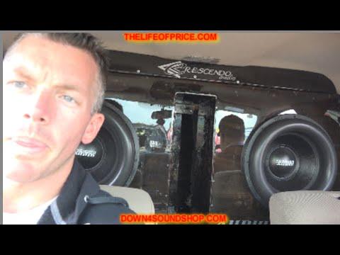 SUNDOWN NS1 ON 4 SUNDOWN ZV4 15S WALLED OFF IN A F150!!