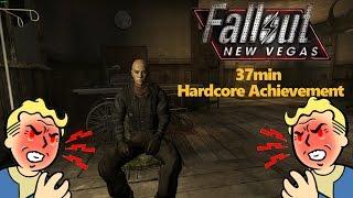 Fallout: New Vegas! Hardcore Achievement in 37 Minutes