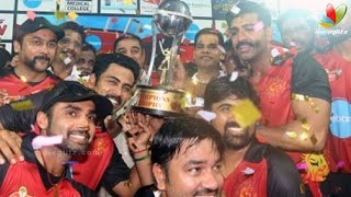 Nadigar Sangam Natchathira 2016 Cricket Match | Hot Tamil Cinema News