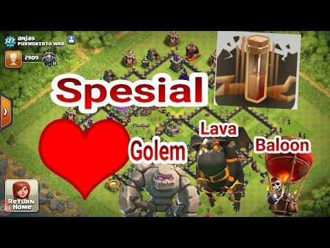 Untuk Pecinta Attack GOLAVALOON ini Dia Specialist  Spell Gempa Bumi