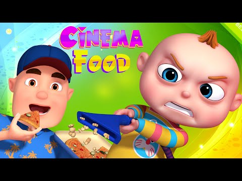 TooToo Boy Cinema Food Animated Cartoons For Children Funny Animated Short films For Kids