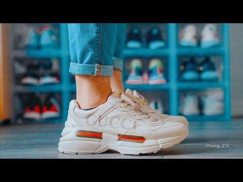 Xxx Mp4 Đập Hộp Đánh Giá On Feet đôi Gucci Quot Rhyton Quot Hung Dinh 3gp Sex