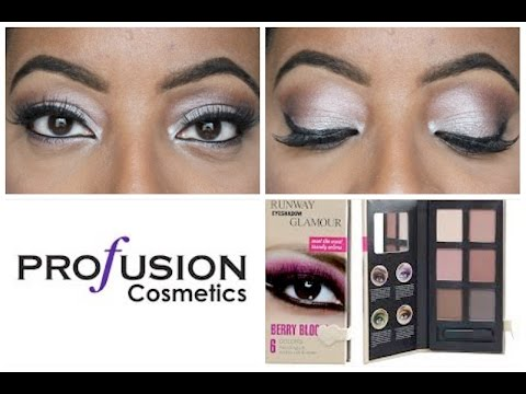 Profusion Cosmetics Runway Glamour BERRY BLOOM Eyeshadow Palette