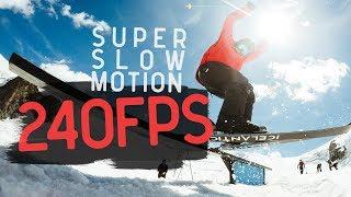 GoPro HERO6: 240fps Skiing Followcams + Free Download