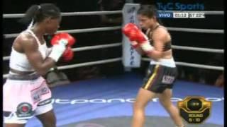 Sayda MOSQUERA vs Dayana CORDERO - IBO - Full Fight - Pelea Completa