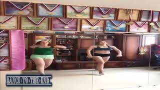 رقص شعبى من رقصتين جامدين اوووى فى المنزل