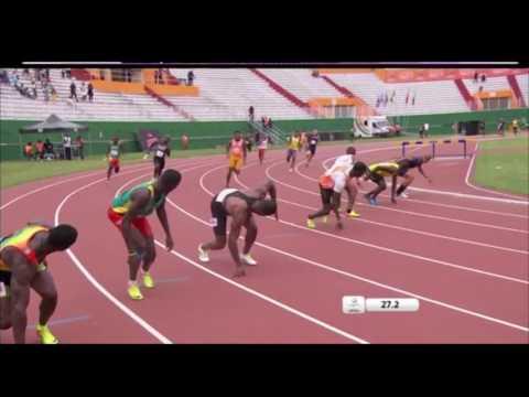 8e Jeux de la Francophonie : relais homme à chaud