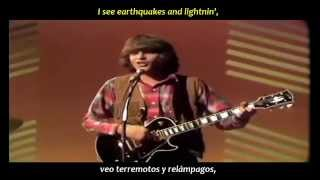 Creedence Clearwater Revival - Bad moon rising (inglés y español)