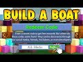Download Video Download Build a Boat ONE OF EVERY BLOCK CODE!!! ( Best Codes EVER! ) 3GP MP4 FLV