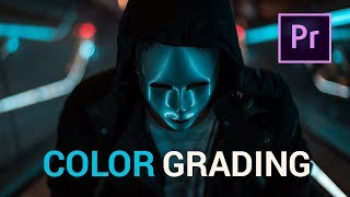 Fast CINEMATIC COLOR GRADING with LUTS