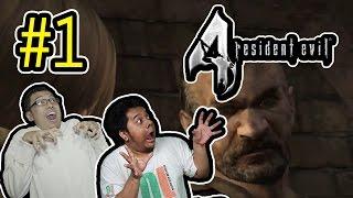Resident Evil 4 (1) TERIAKAN LELAKI!!! HAHAHAH