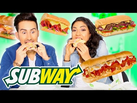 SUBWAY TASTE TEST!