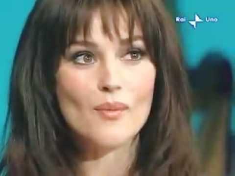 Monica Bellucci con Eros Ramazzotti