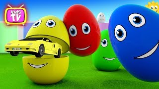 Learn colors Learn shapes Surprise eggs - 3D Cartoons for children Video for kids part - 2