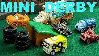 Jackson Storm Mini Derby Lightning McQueen has a BIG problem!
