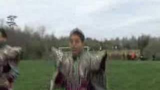 ALMA  Boliviana dancing on GRASS part 1