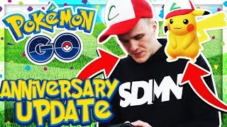 1 YEAR OF POKEMON GO!