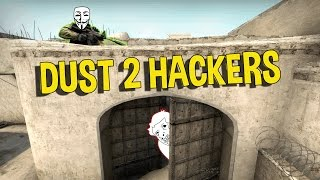 CS:GO THE WORST DUST 2 HACKERS - OVERWATCH FUNNY MOMENTS