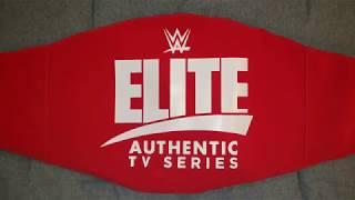 WWE Elite Authentic TV Series Universal Championship Title Belt Review