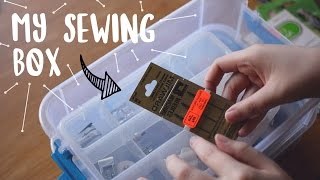 What's in my Sewing Kit | Beginner Friendly
