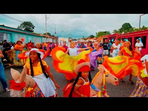 La Burriquita baile típico del Folklore Venezolano interpretado por mi hija Inés