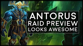 Raid Preview of Antorus the Burning Throne | World of Warcraft Legion