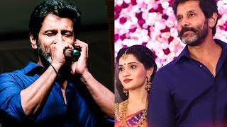 Vikram sings at his daughter Akshita Reception | TK 589