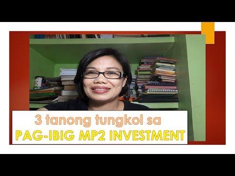 3 tanong tungkol sa PAG-IBIG MP2 INVESTMENT