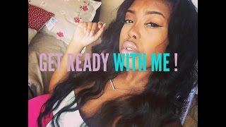 Get Ready With Me| Nicki Minaj Inspired NATURAL Makeup Tutorial|Bet Awards 2014