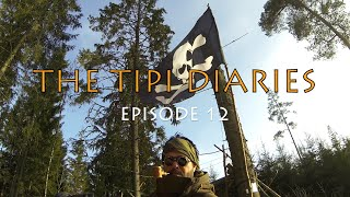 The Tipi Diaries Ep12 - Bushcraft Sweden & Wilderness Painting Adventure
