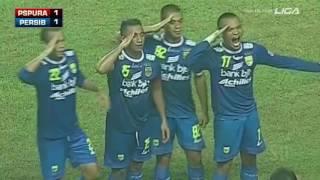 Final ISL 2014 - Persipura Jayapura 2-2 (Pen. 3-5) Persib Bandung