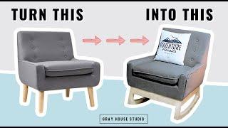 Rocking Chair Base Build // DIY